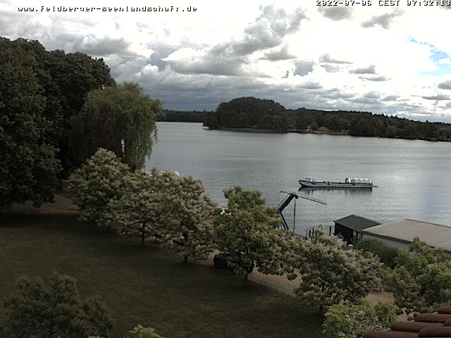 Live-Wettercam der Feldberger Seenlandschaft